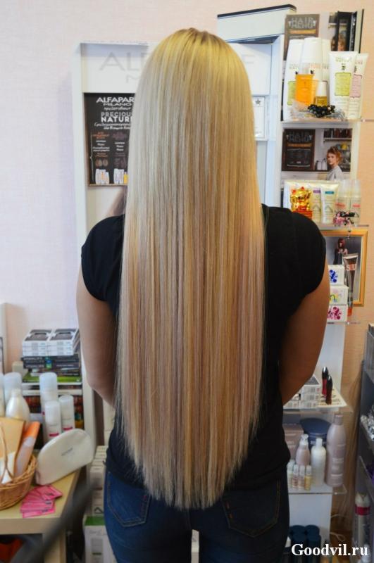 Где в томске нарастить волосы
